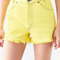 Urban Renewal Recycled Overdyed Cutoff Short - Urban Outfitters