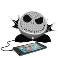 Nightmare Before Christmas Jack Skellington Rechargeable Character Speaker, DJ-M662