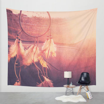 Dream Catcher Wall Tapestry by Whitney Retter