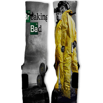 Breaking Bad Customized Nike Elite Socks!!