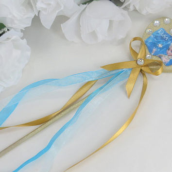 Princess Elsa Wand - Frozen Birthday - Frozen Elsa Costume - Costume Accessories - Elsa Birthday - Frozen Queen Elsa - Party Accessories