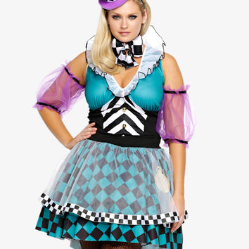 Leg Avenue - Mad Hatter Costume Dress