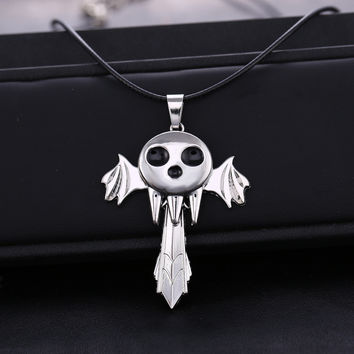 Soul Eater Death The Kid Inspired necklace