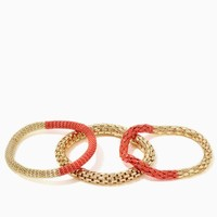 Painted Mesh Bracelet Set | Fashion Jewelry | charming charlie