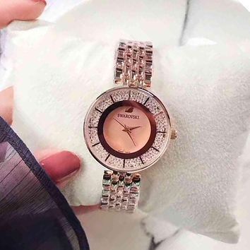 Swarovski Women Quartz Movement Watch Wristwatch