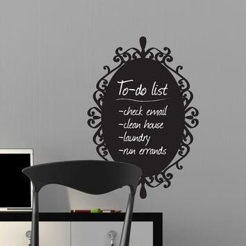 Decorative Chalkboard Frame