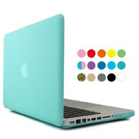 "iBenzer Macbook Pro 13"" with CD-ROM Plastic Hard Case, Keyboard Cover (Purple)"