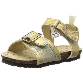 Osh Kosh Girls Britt Toddler Glitter Sandals