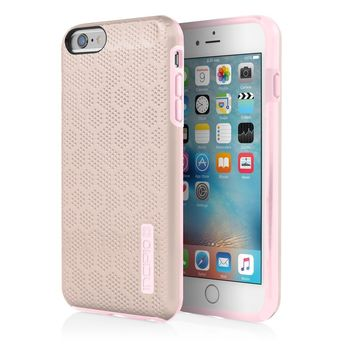 iPhone 6/6s Case, Incipio [Hard Shell] [Dual Layer] DualPro Tension Case for iPhone 6/6s-Light Rose Gold/Pale Pink