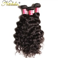Nadula Hair 1Piece Brazilian Natural Wave Non-Remy Human Hair Bundles 8-26inch Natural Color Can Be Bleached Hair Weave