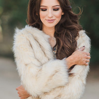 Eliza Faux Fur Jacket