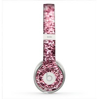 The Subtle Pink Glimmer Skin for the Beats by Dre Solo 2 Headphones