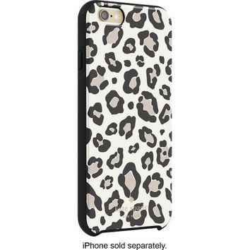 kate spade new york - Hybrid Hard Shell Case for Apple® iPhone® 6 and 6s - Leopard Print