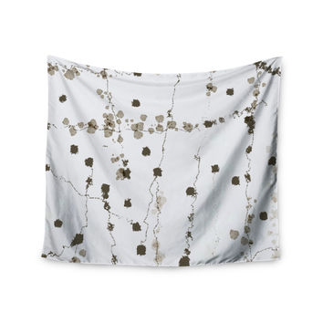"CarolLynn Tice ""Wonder"" Brown White Wall Tapestry"