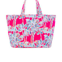 Beach Tote Bag - Nice Stems - Lilly Pulitzer