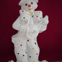 Ceramic Clown Figurine