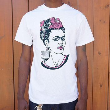 Frida Kahlo [Quote] Men's T-Shirt