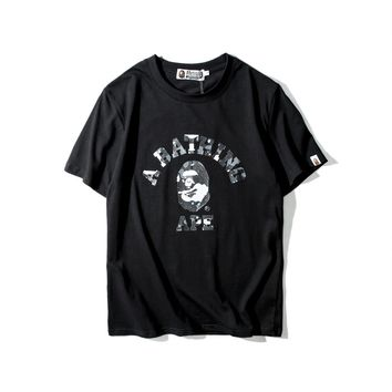 Star sky ape head cotton short sleeves [211441025036]