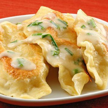 Food to cook! / Potato and Cheese Pierogi | MyGourmetConnection Recipes