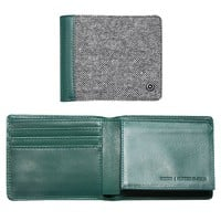 Nixon Hutton Bi-Fold Wallet - Mens Wallets - Green - One