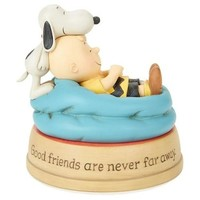 Peanuts Good Friends Charlie Brown and Snoopy Figurine