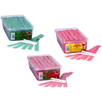 Dorval Sour Power Belts Candy: 150-Piece Tub | CandyWarehouse.com Online Candy Store