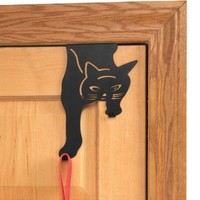 Over the Door Cat Hook by WalterDrake