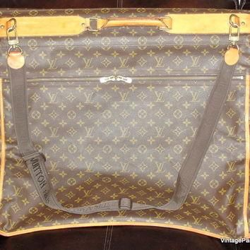 Louis Vuitton Monogram Luggage Folding Garment Bag