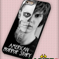 """American Horror Story Tate Langdon Evan Peter  for iPhone 4/4s, iPhone 5/5S/5C/6/6+, Samsung S3/S4/S5 Case """"005"""""""