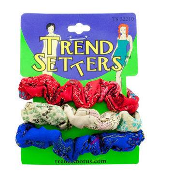 Asian Fabric Hair Twisters Set: Case of 24