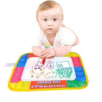 29*19cm Kids Baby Toys Water Drawing Painting Writing Mat Board & Magic Pen New D_L = 1708650308