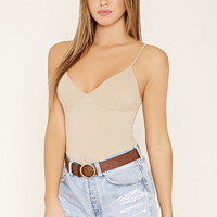 Ribbed Cami Bodysuit