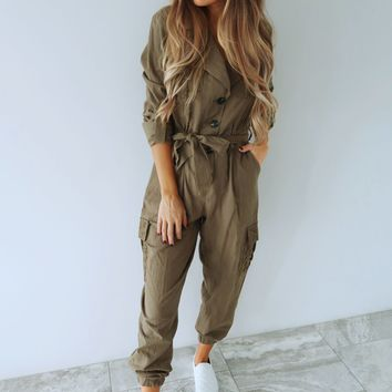 I Like It Like That Jumper: Olive