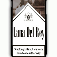 iPhone 6 Plus Case - Rubber (TPU) Cover with Lana Del Rey Cigarettes Rubber Case Design