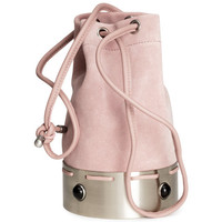 H&M - Suede Bag - Pink - Ladies