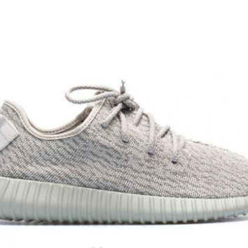 PEAPN Ready Stock Adidas Yeezy Boost 350 'moonrock' Sport Running Shoes