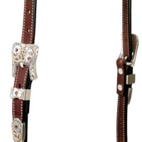 Saddles Tack Horse Supplies - ChickSaddlery.com Weaver Stacy Westfall Showtime One-Ear Headstall