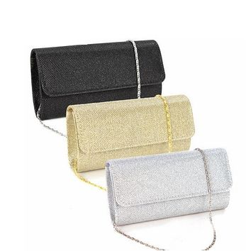 2017 Satin Rhinestone Women Evening Clutch Bag Ladies Day Clutch Purse Chain Handbag Bridal Wedding lady Party Bags Bolsa Mujer