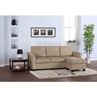 Small Spaces Configurable Sectional Sofa, Multiple Colors - Walmart.com