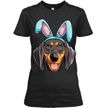 Easter Bunny Dachshund T shirt Dog Boys Girl Kids Men Women Ladies Custom