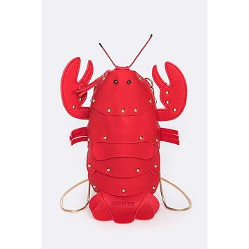 Rock Lobster Clutch Bag