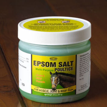 Horse Hoof Care Epsom Salt Poultice By From