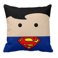 Handmade Superman Pillow - Whimsical & Unique Gift Ideas for the Coolest Gift Givers