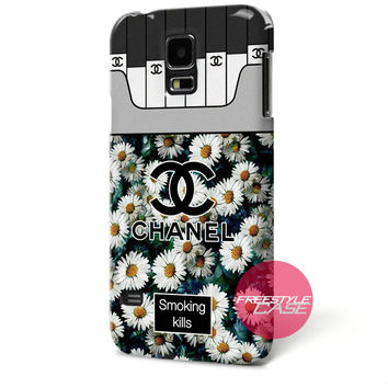Chanel Coco Flower Smoking Kills Samsung Galaxy Case Cover Series