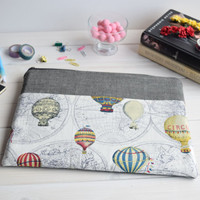 Air balloons Macbook Air Pro 13 sleeve, Macbook Pro sleeve 13, Macbook Air 13 sleeve, Macbook Air 13 case, Macbook Pro 13 case, mac sleeve