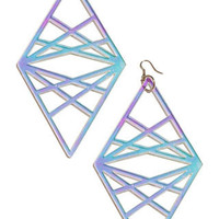 Holographic Goddess Eye Earrings