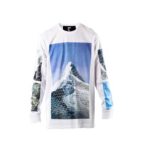 Hood By Air Long Sleeve Paramount Tee (White)