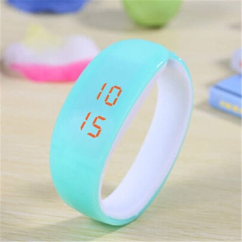 Unisex Digital Watch Running Sports Bracelet Watch