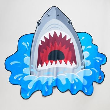 Big Mouth Shark Beach Blanket Towel at asos.com