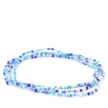 Me To We Amazon Rafiki Friend Chain - Womens Jewelry - Blue - One